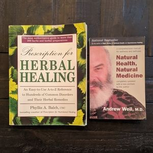 Natural Health & Herbal Healing Books